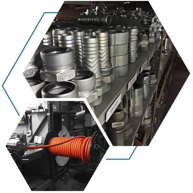 Hebdraulique : boyaux et raccords hydrauliques