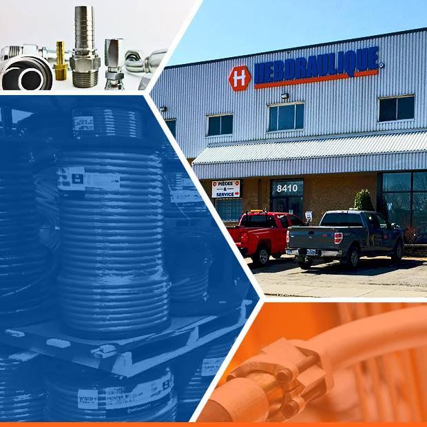 Boyaux et raccords hydrauliques à Montréal
