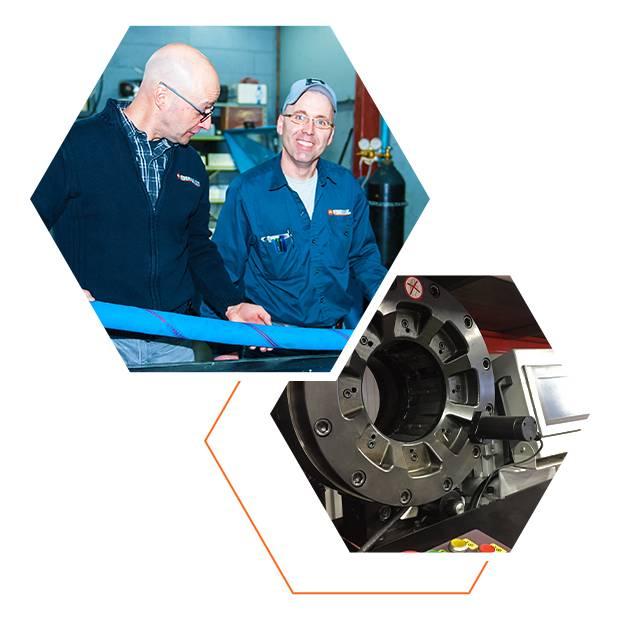Services hydrauliques en succursale